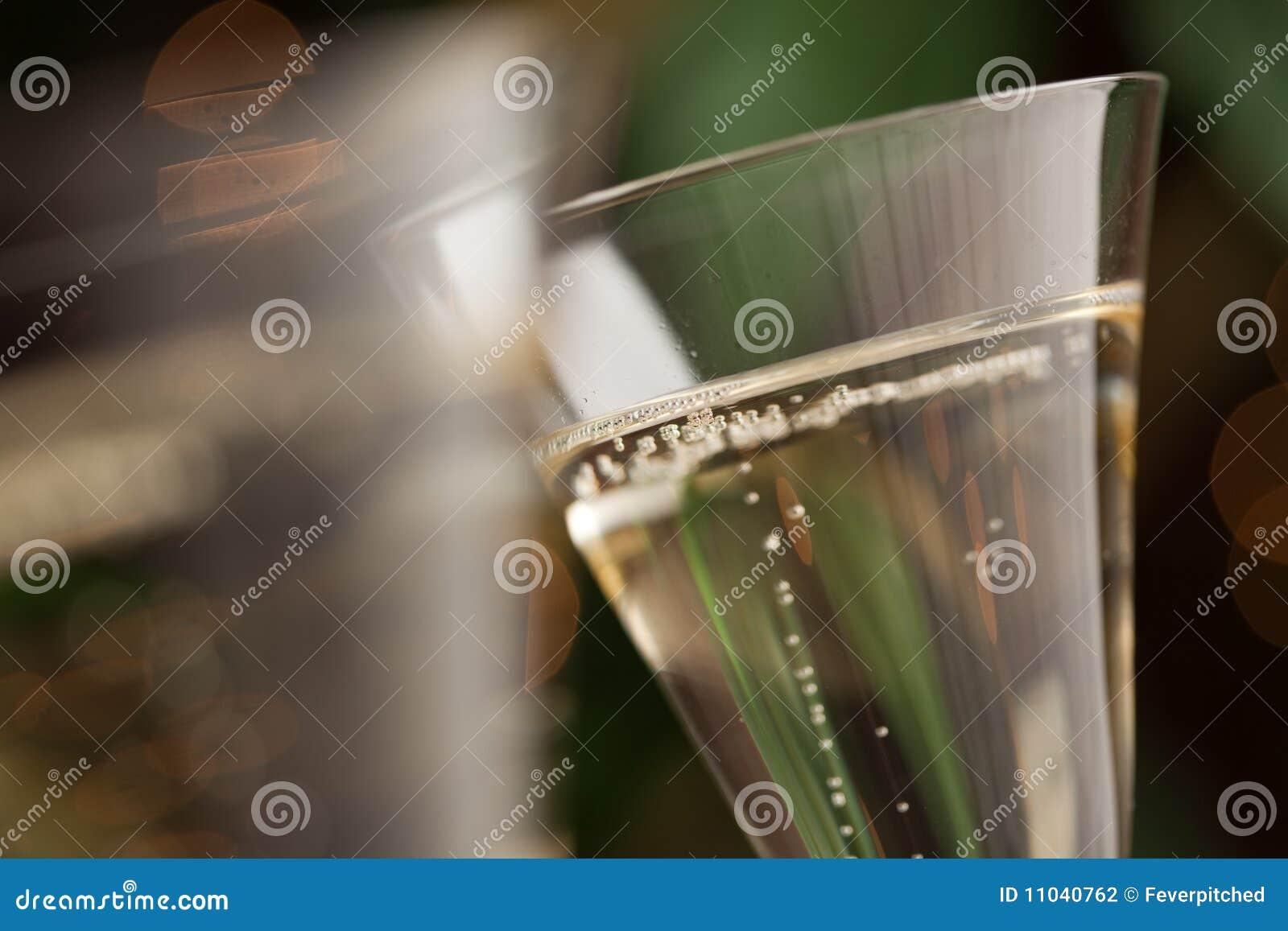 Champagne-Glas-Auszug