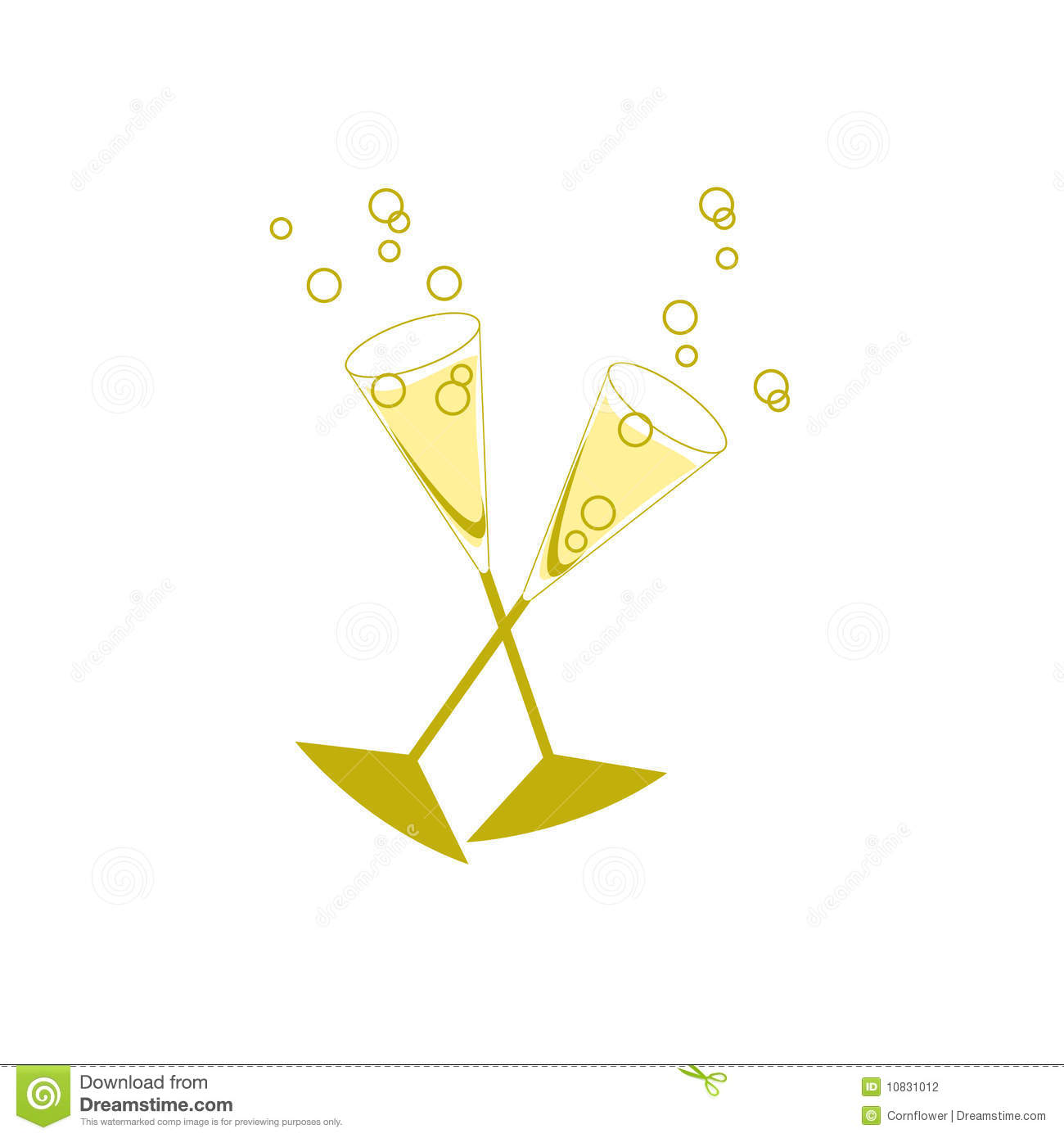 Champagne Glasses Stock Photography - Image: 10831012
