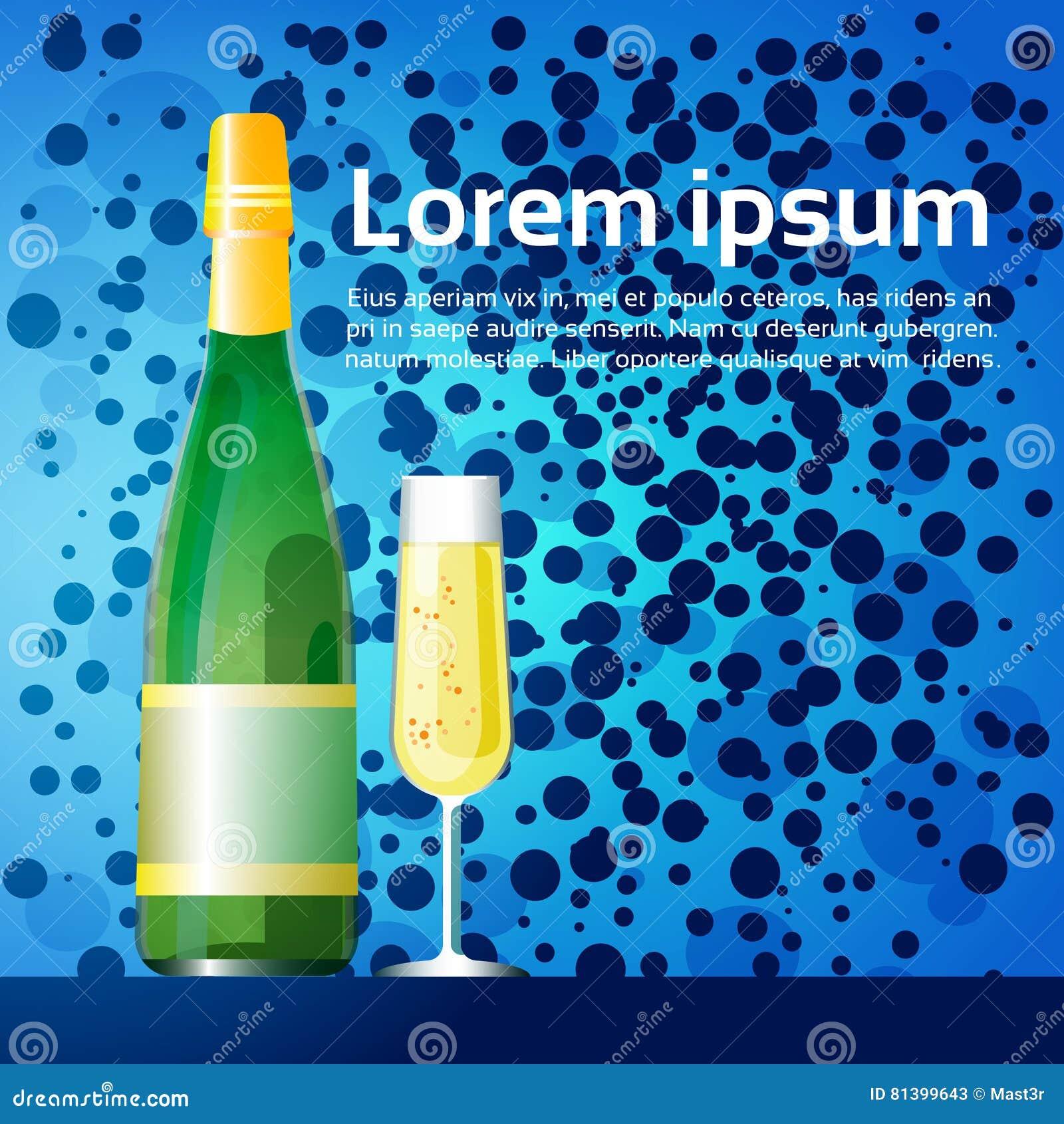 Champagne Happy New Year Merry-Weihnachtsdekorations-Gruß-Karten ...