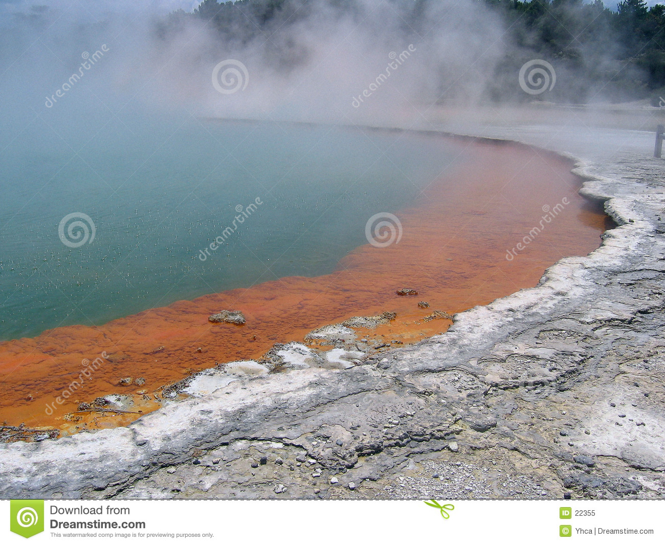 Champagne Pool - Natural geothermal pool