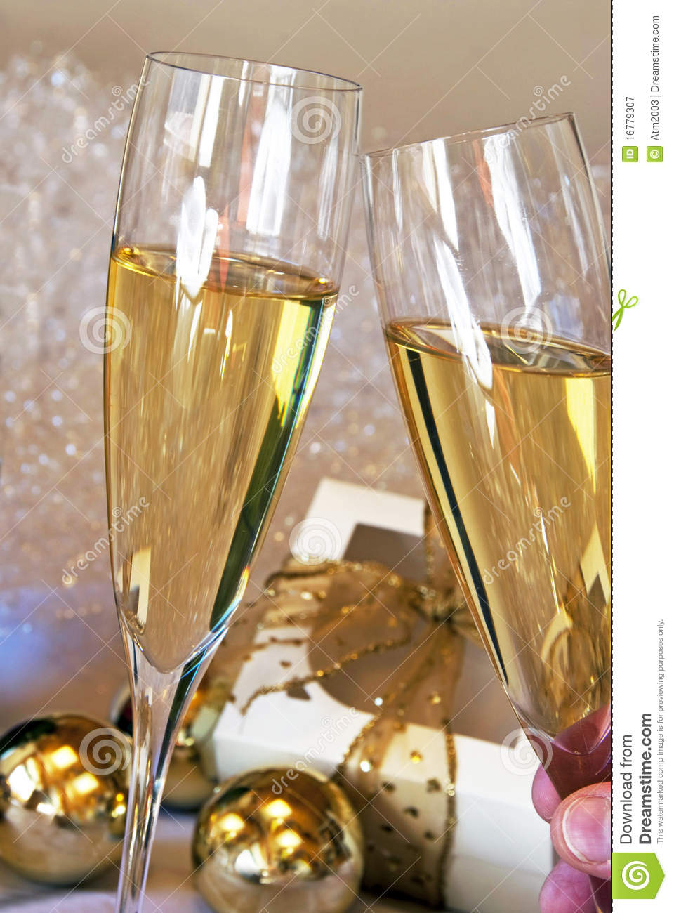 champagne toast royalty free stock photography