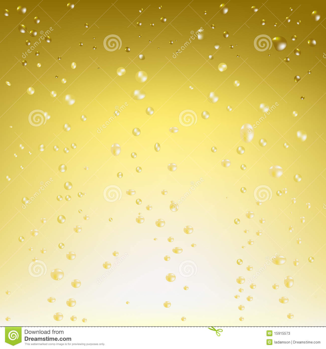 Champagne Vector Background. Vector Stock Photos - Image: 15915573