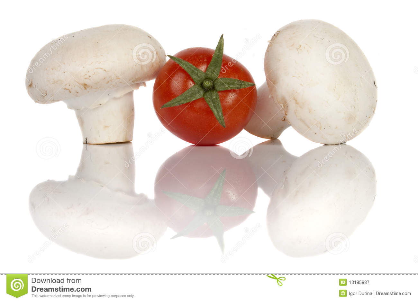 Champignon κουμπιών μανιτάρι