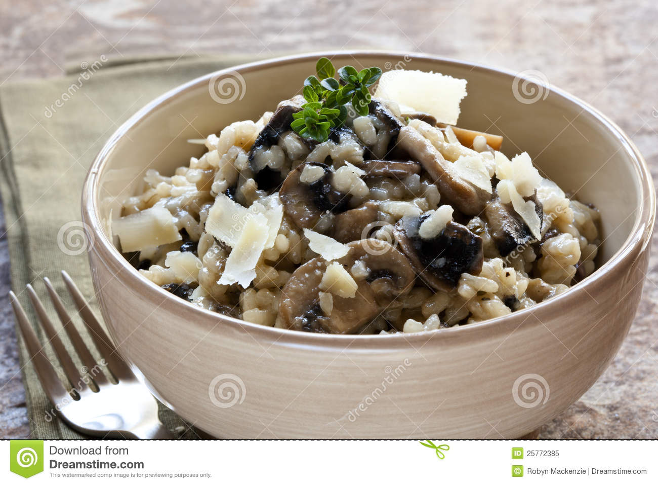 ChampinjonRisotto