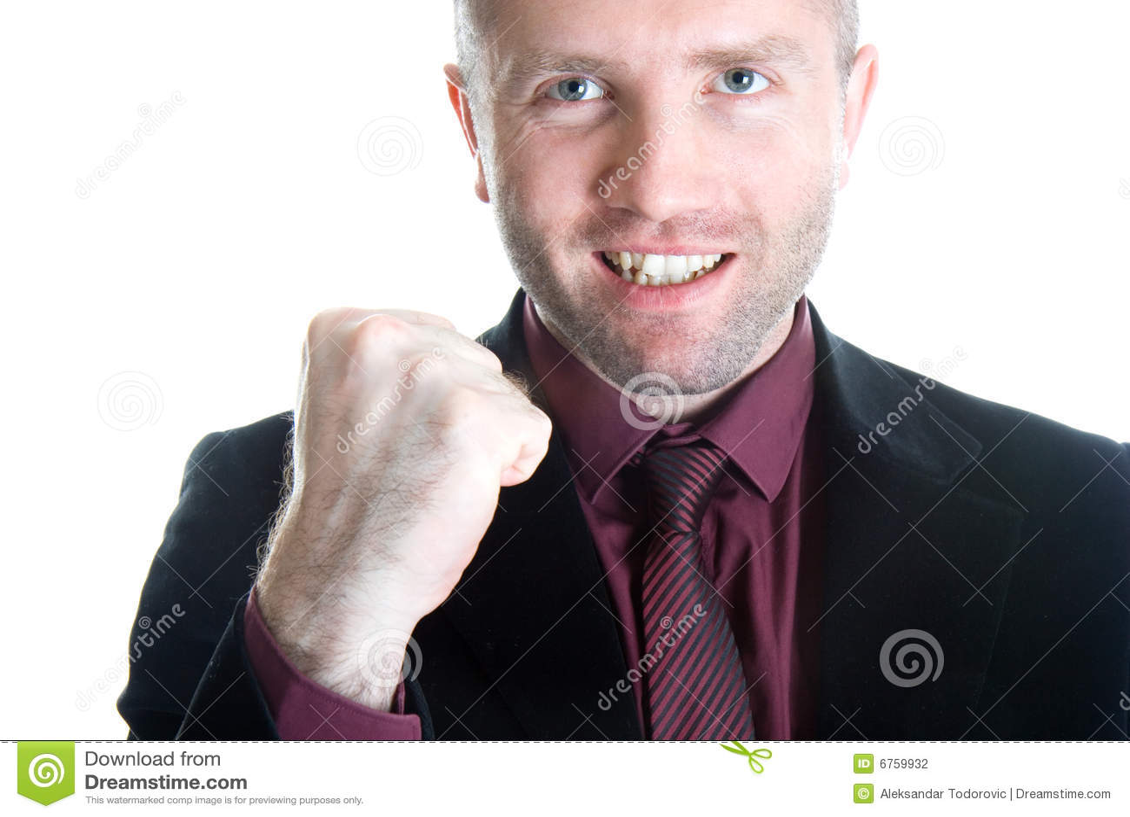 Champion business man