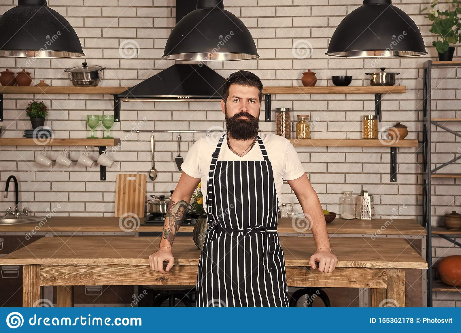 He Is A Champion In The Kitchen Hipster In Kitchen Mature