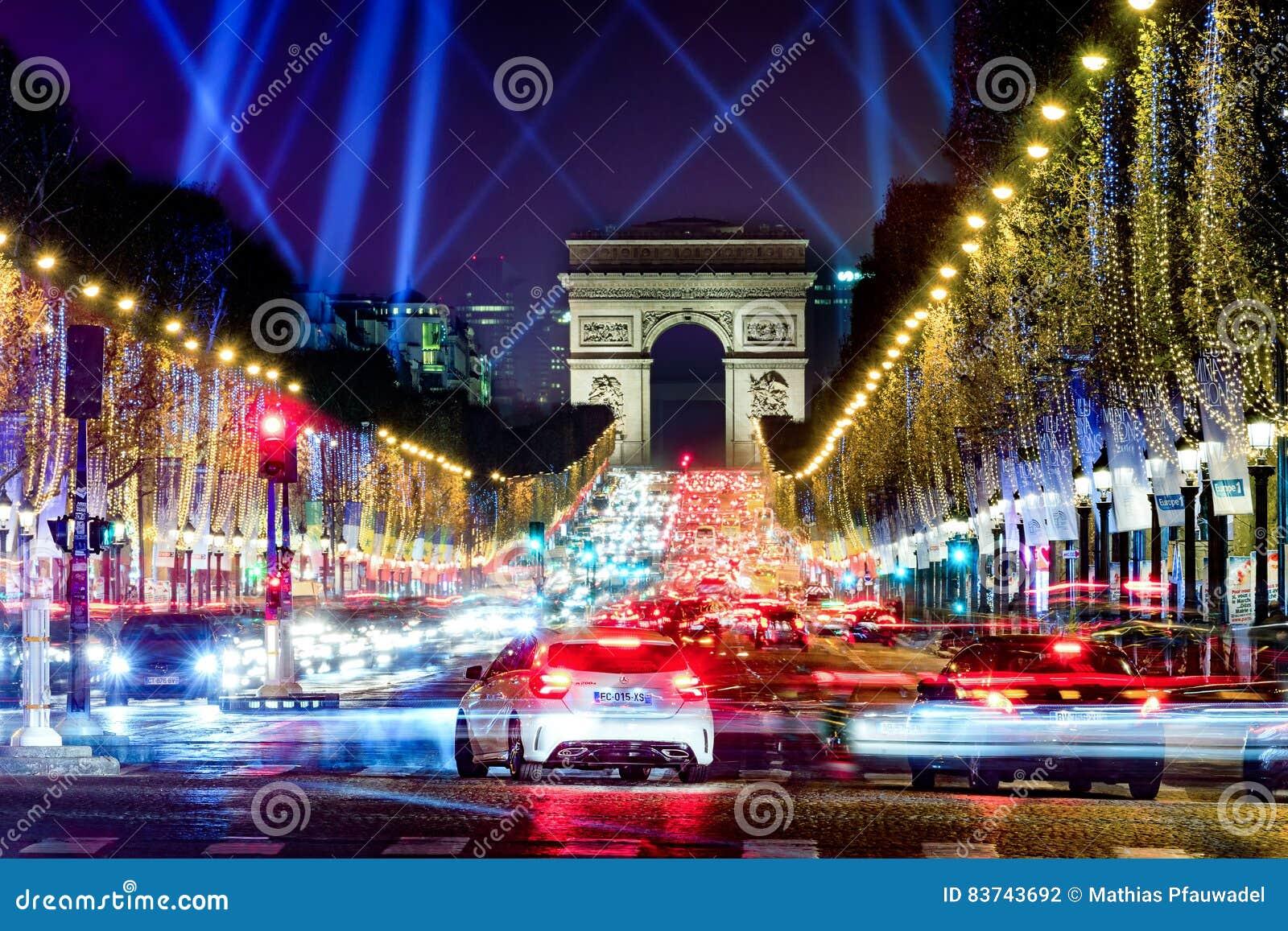 Championen Elysees, Paris, Frankreich