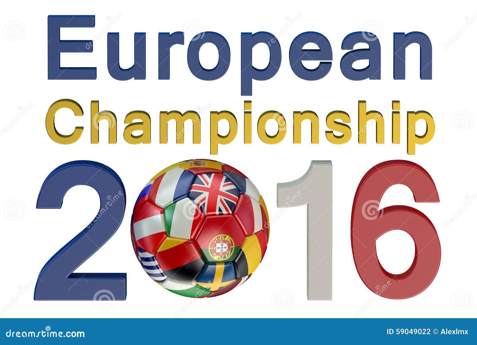 championnat europ en 2016 du football illustration stock image 59049022. Black Bedroom Furniture Sets. Home Design Ideas