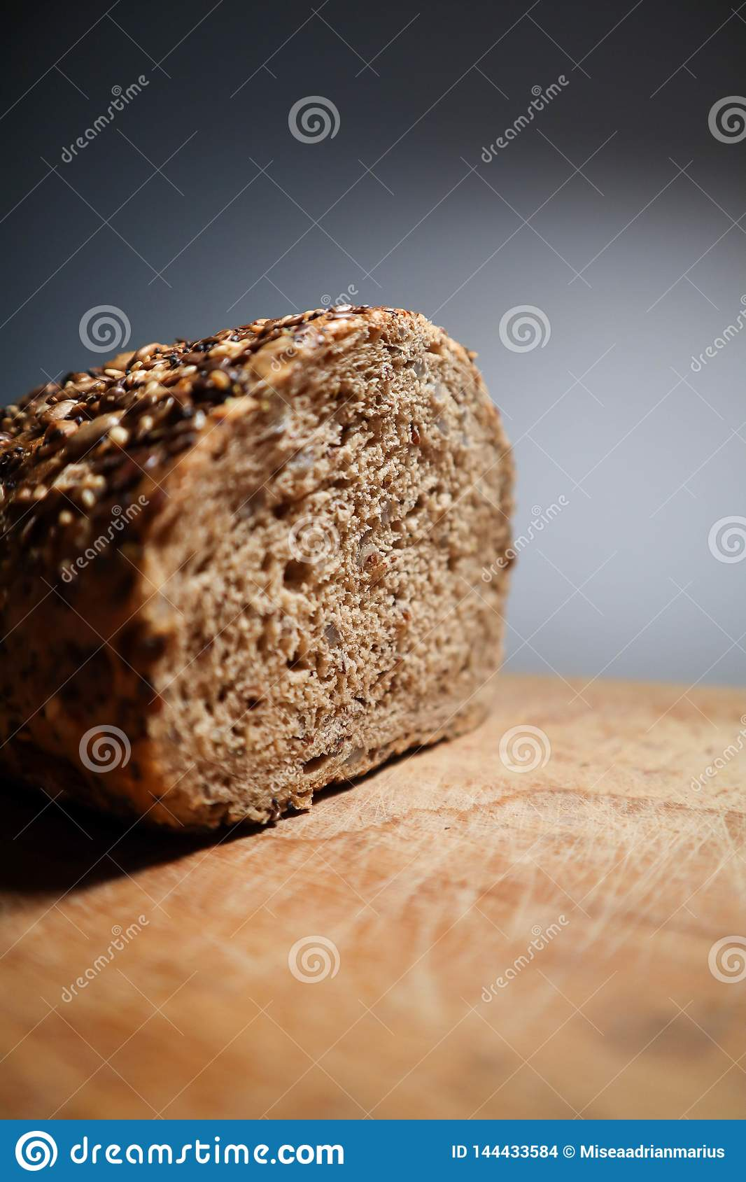 Champions bread with lots of seeds