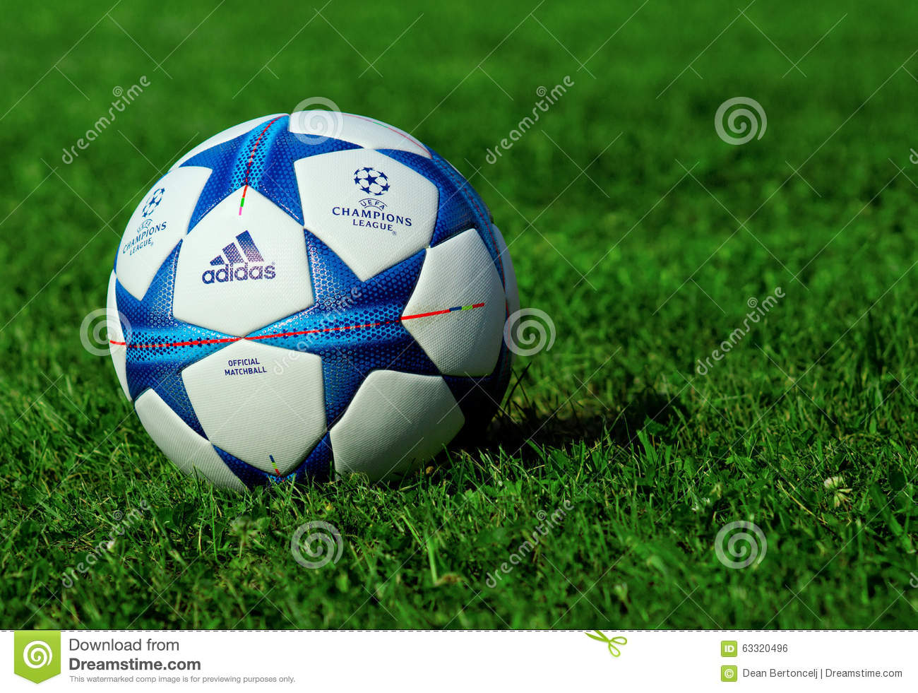 Champions league ball editorial photo. Image of 2016 ...
