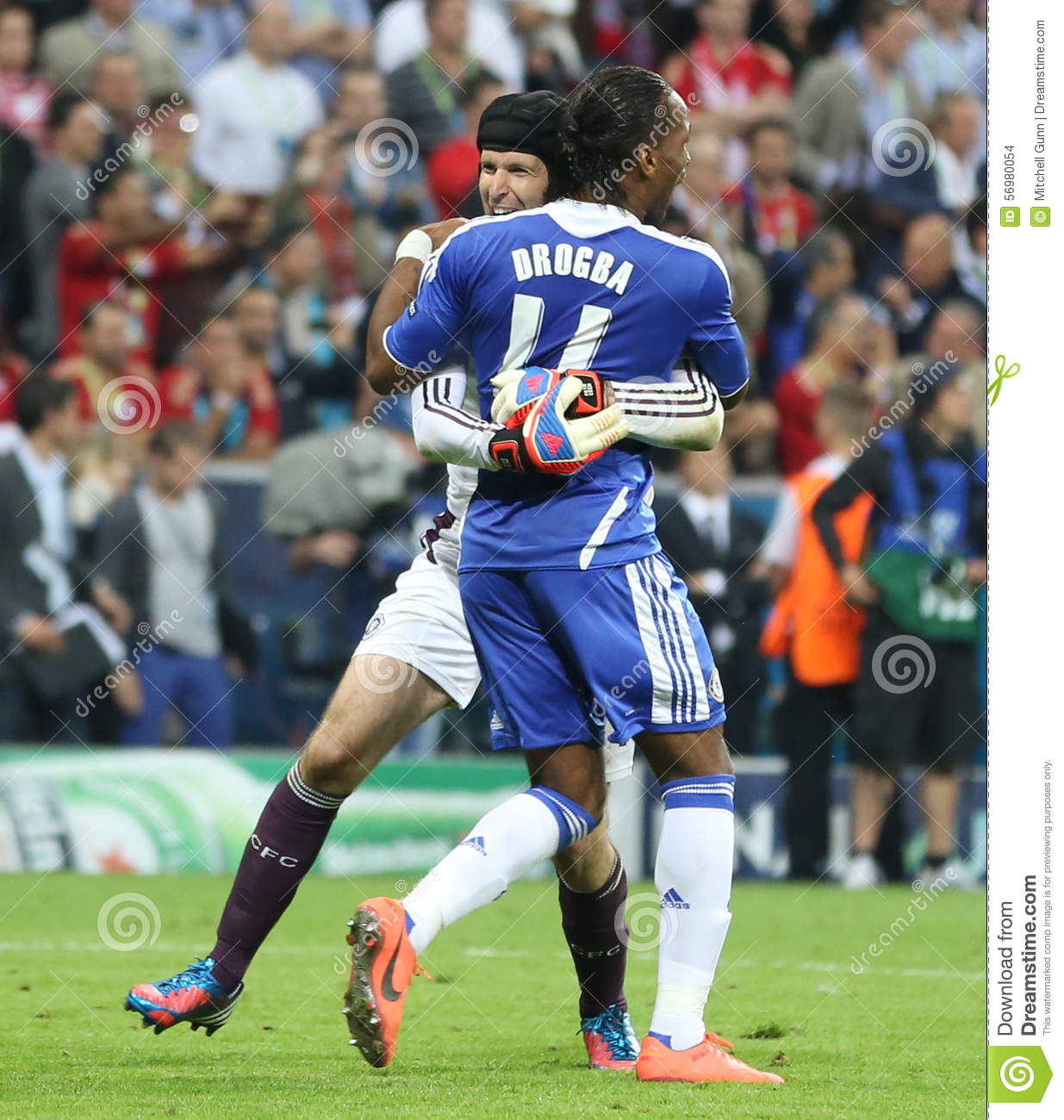 Champions League Final 2012: 2012 Champions League Final Chelsea Training Editorial