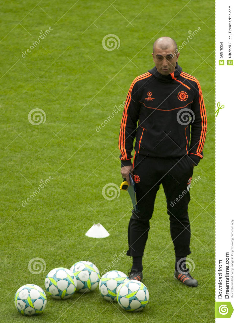 2012 champions league final chelsea training editorial stock image image of chelsea champions 56978354 dreamstime com
