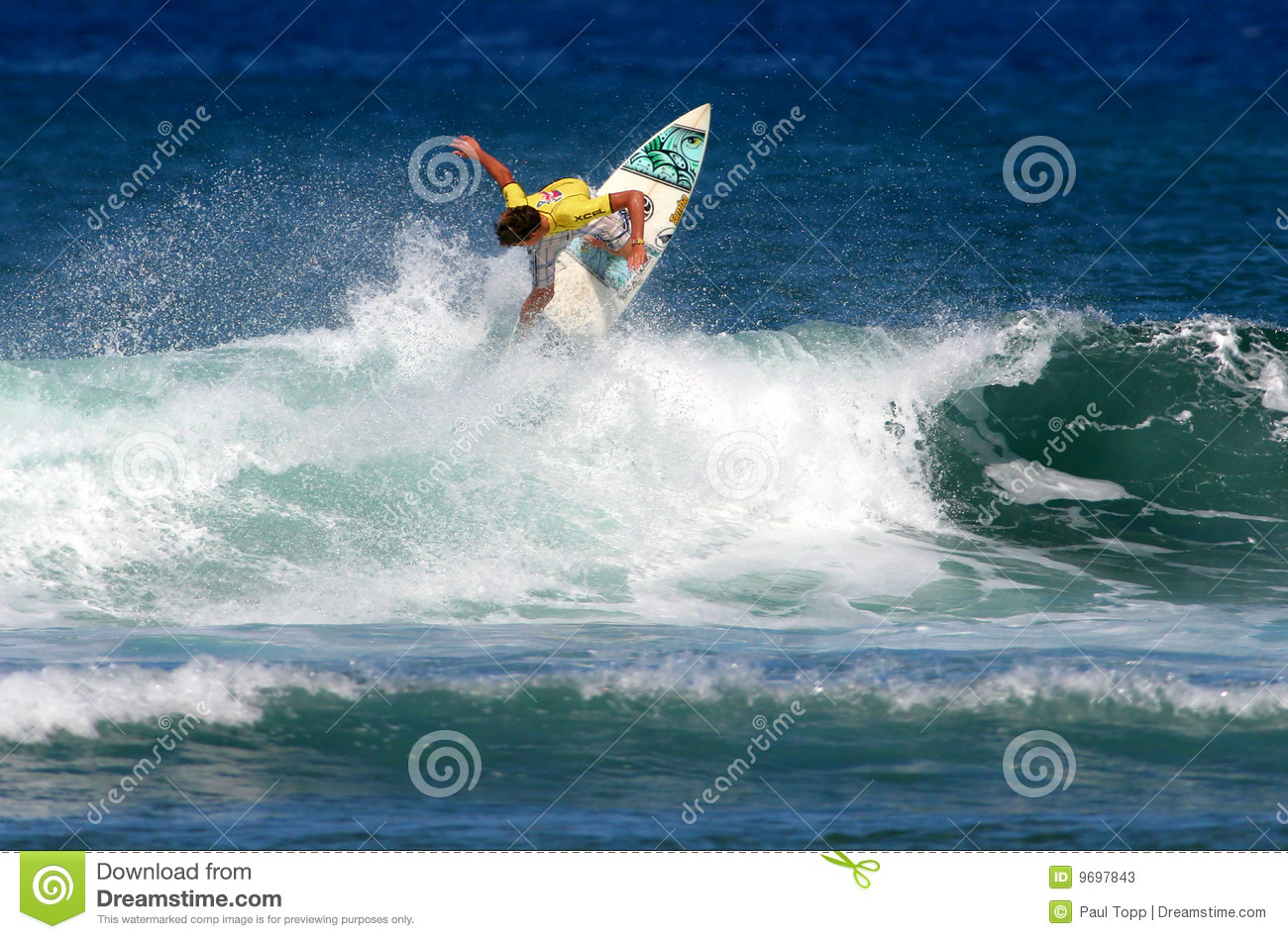 97dfcbeb5cb628 Teen boy surfing in the Hawaii State Surfing Championships in Honolulu