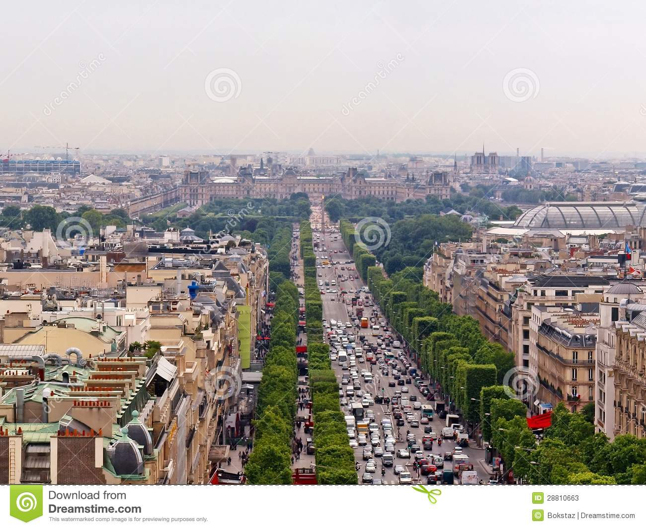 How to get from Champs-Elysées to Louvre by subway, bus, taxi, towncar, foot or bike
