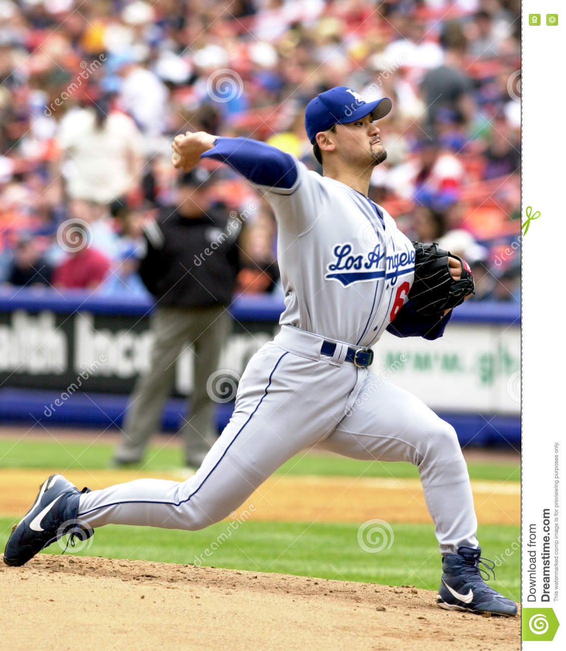 Chan Ho Park, Los Angeles Dodgers