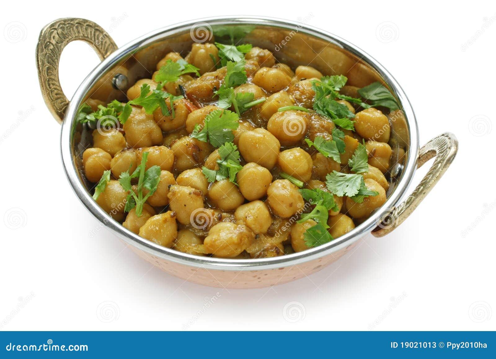 Chana Masala , Chickpea Curry , Indian Dish Stock Photos - Image ...
