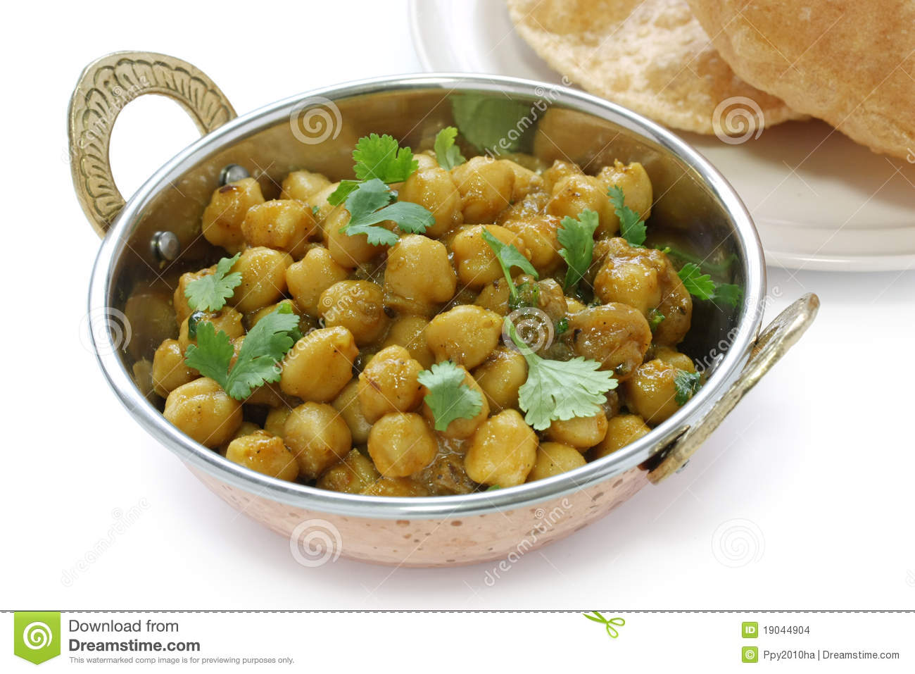 Chana Masala , Chickpea Curry , Indian Dish Stock Images - Image ...