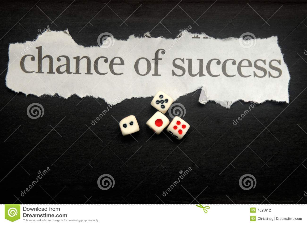 probability chances of success