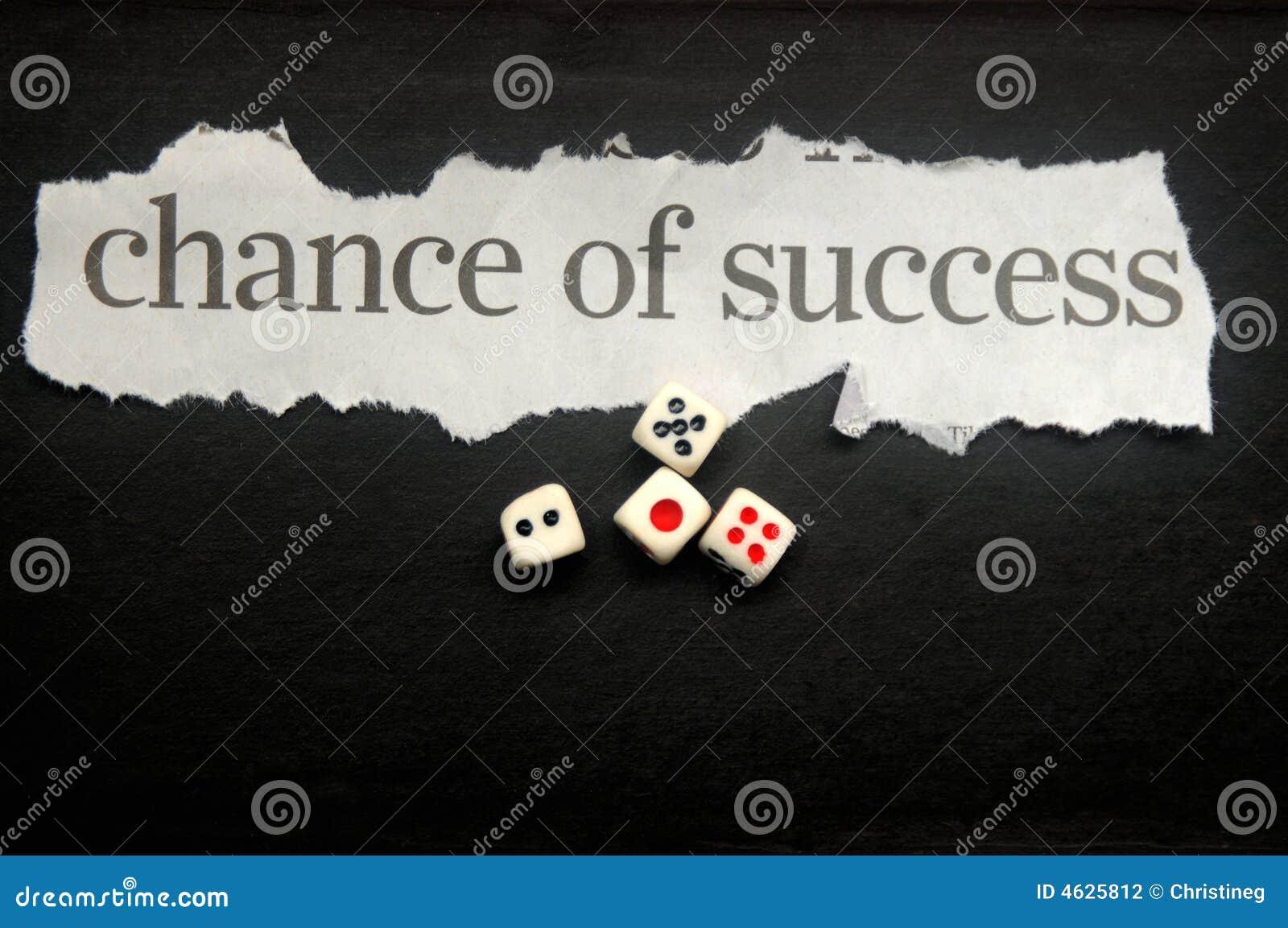 probability chances of success
