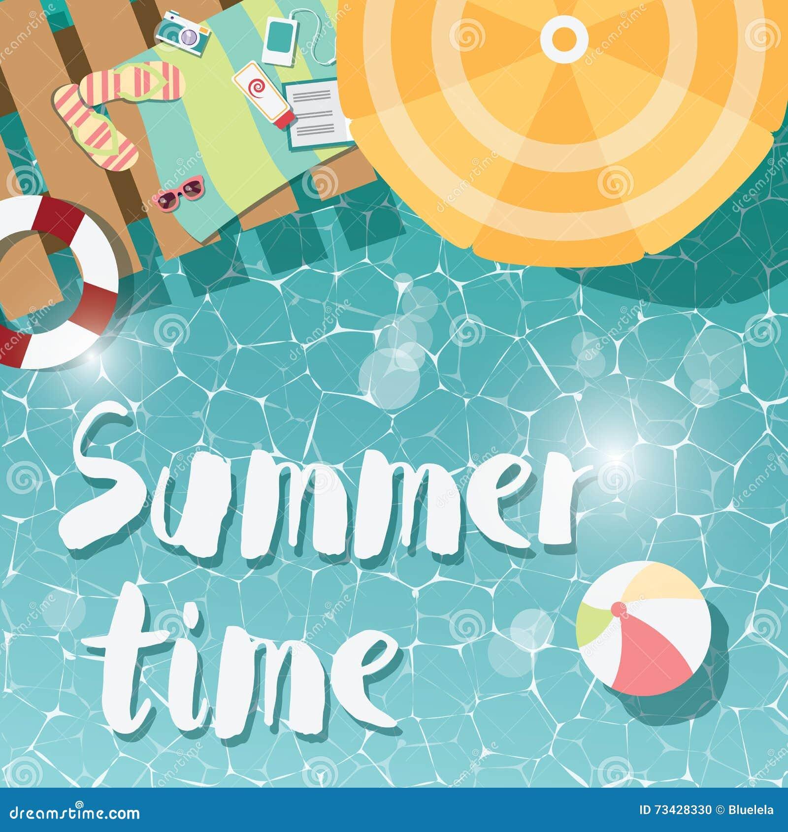 chancletas tipográficas modernas del diseño del cartel del verano