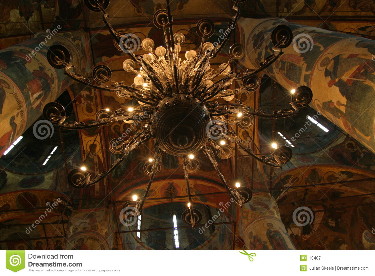 Chandelier in the Kremlin