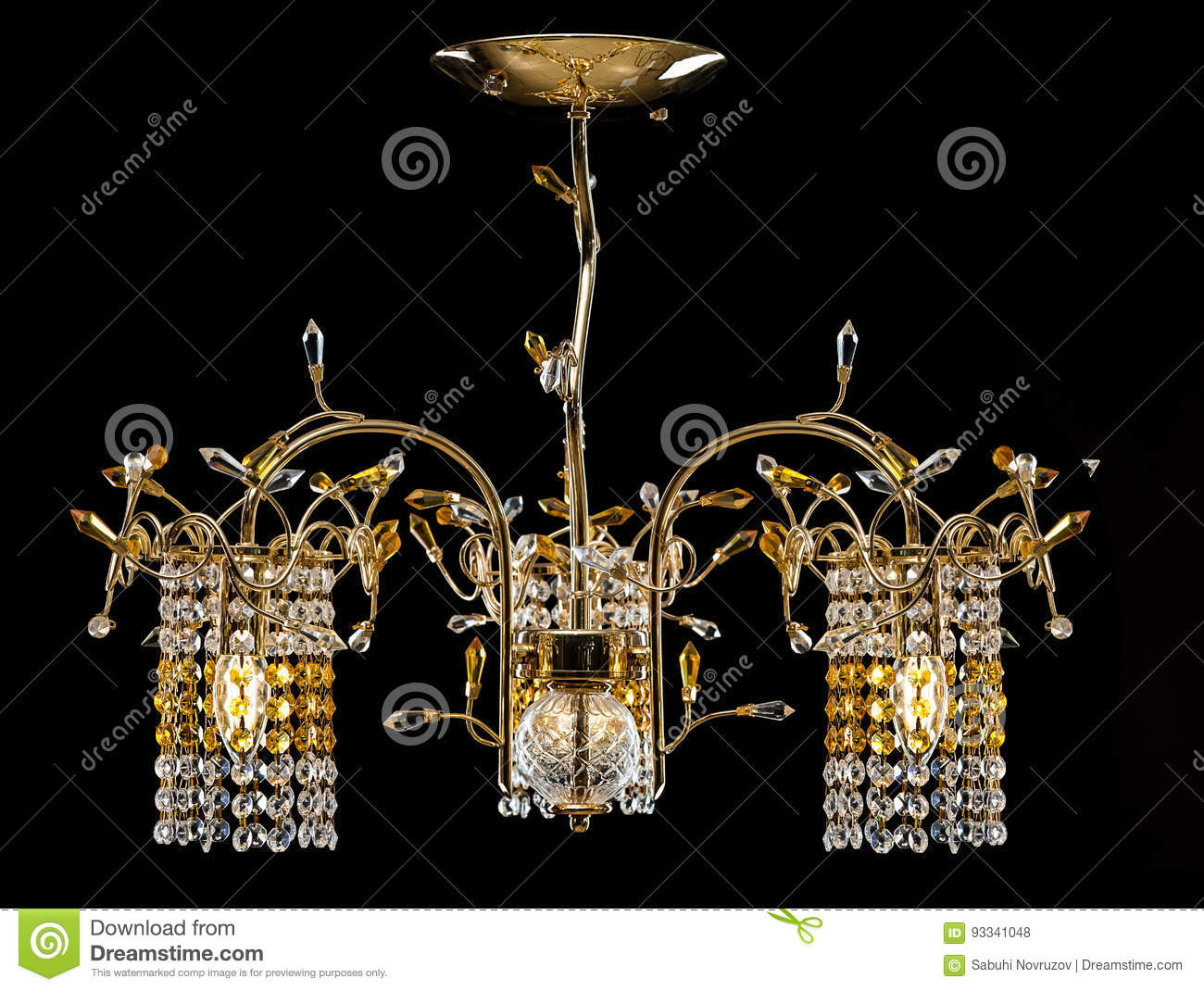 Chandelier For A Modern Interior Crystal Hallway Living Room Or Bedroom