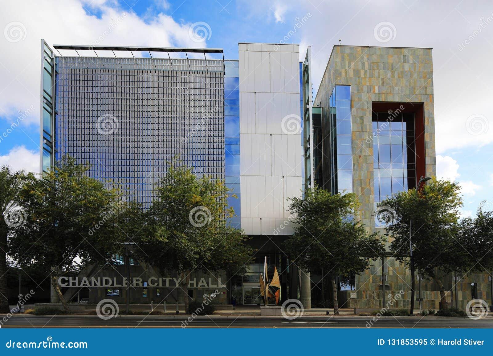 Chandler City Hall em Chandler, o Arizona