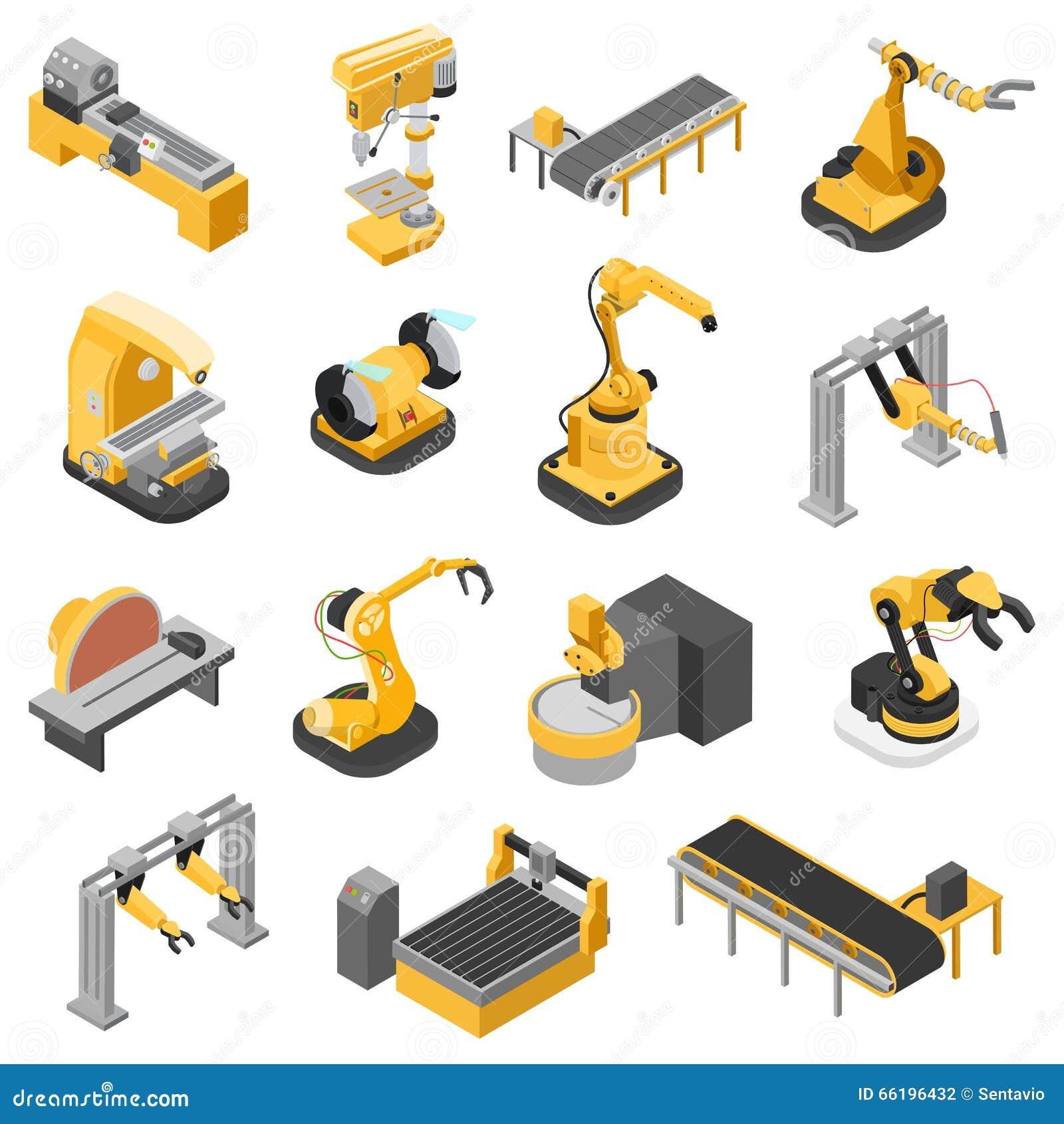 Cha 238 Ne De Montage De Machines D Industrie Lourde Vecteur