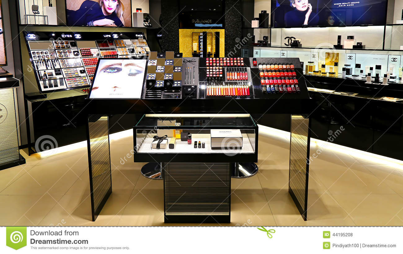 Chanel Cosmetics Outlet Editorial Stock Photo Image Of