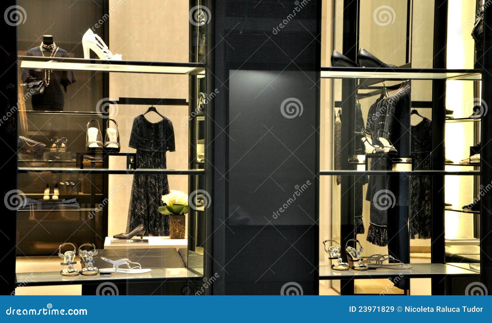 Chanel Mody Sklep Obraz Stock Editorial Obraz Złożonej Z Target30