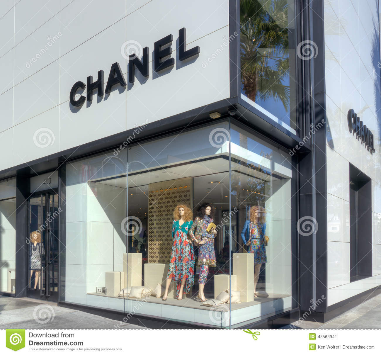 Chanel Retail Store Exterior Editorial Photo Image 48563941