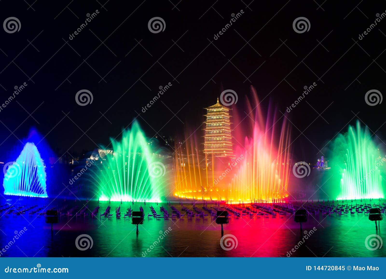 """Changan πύργος Αυτό είναι ΧΙ """"μια διεθνής φυτοκομική περιοχή EXPO, changan πύργος Τουριστικό θέρετρο"""