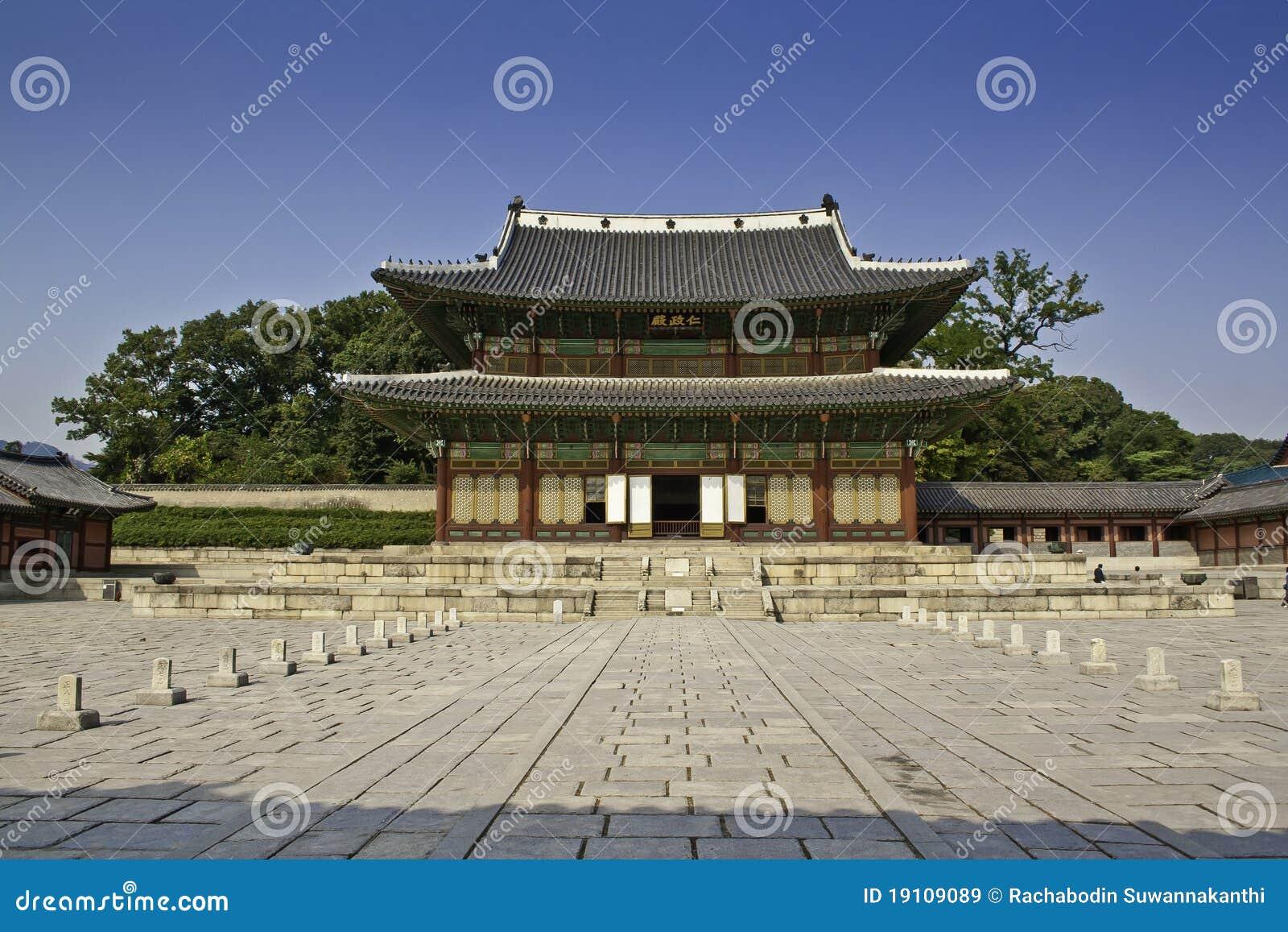 Changdeok Korea pałac południe