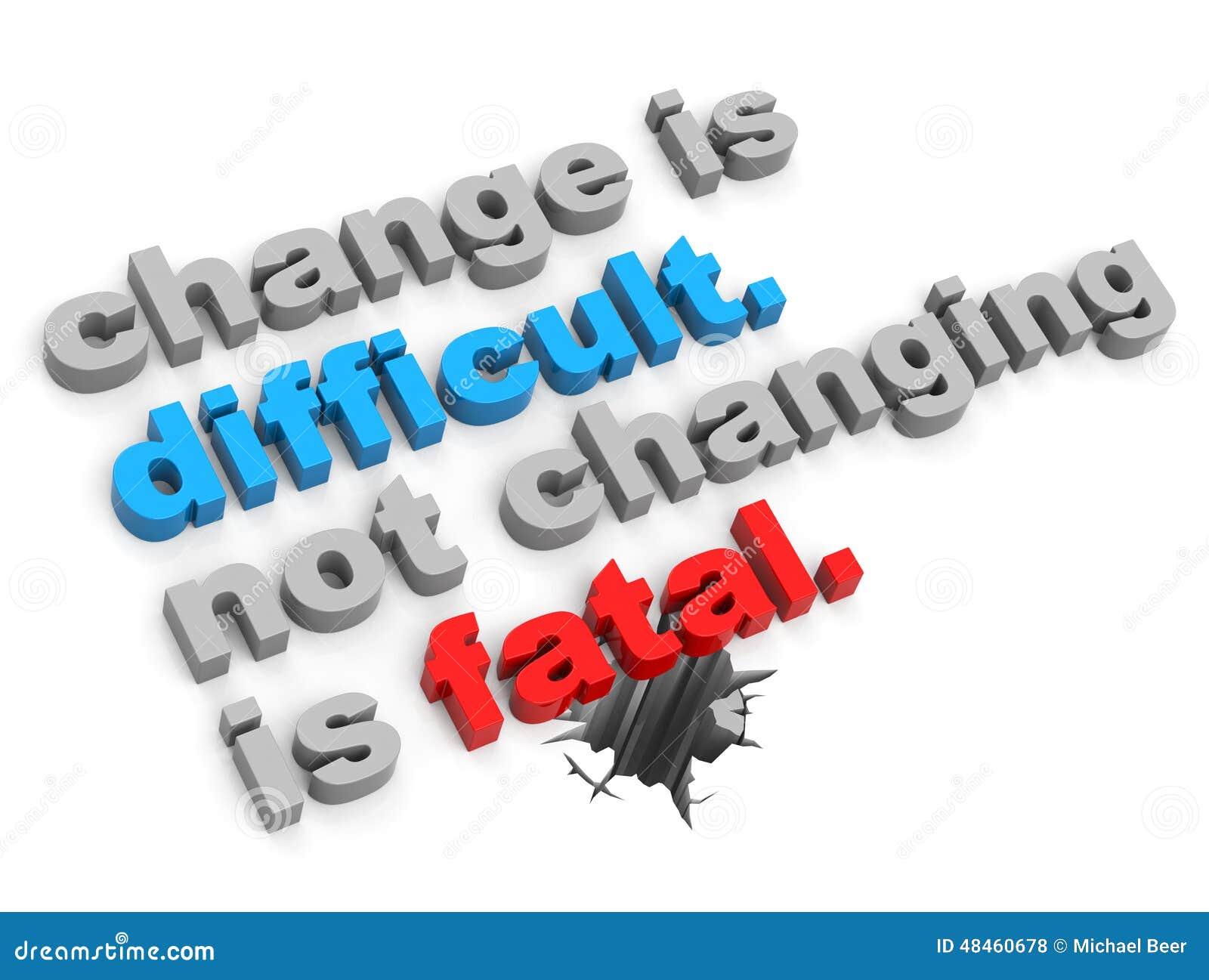 Change Concept Stock Illustration - Image: 48460678
