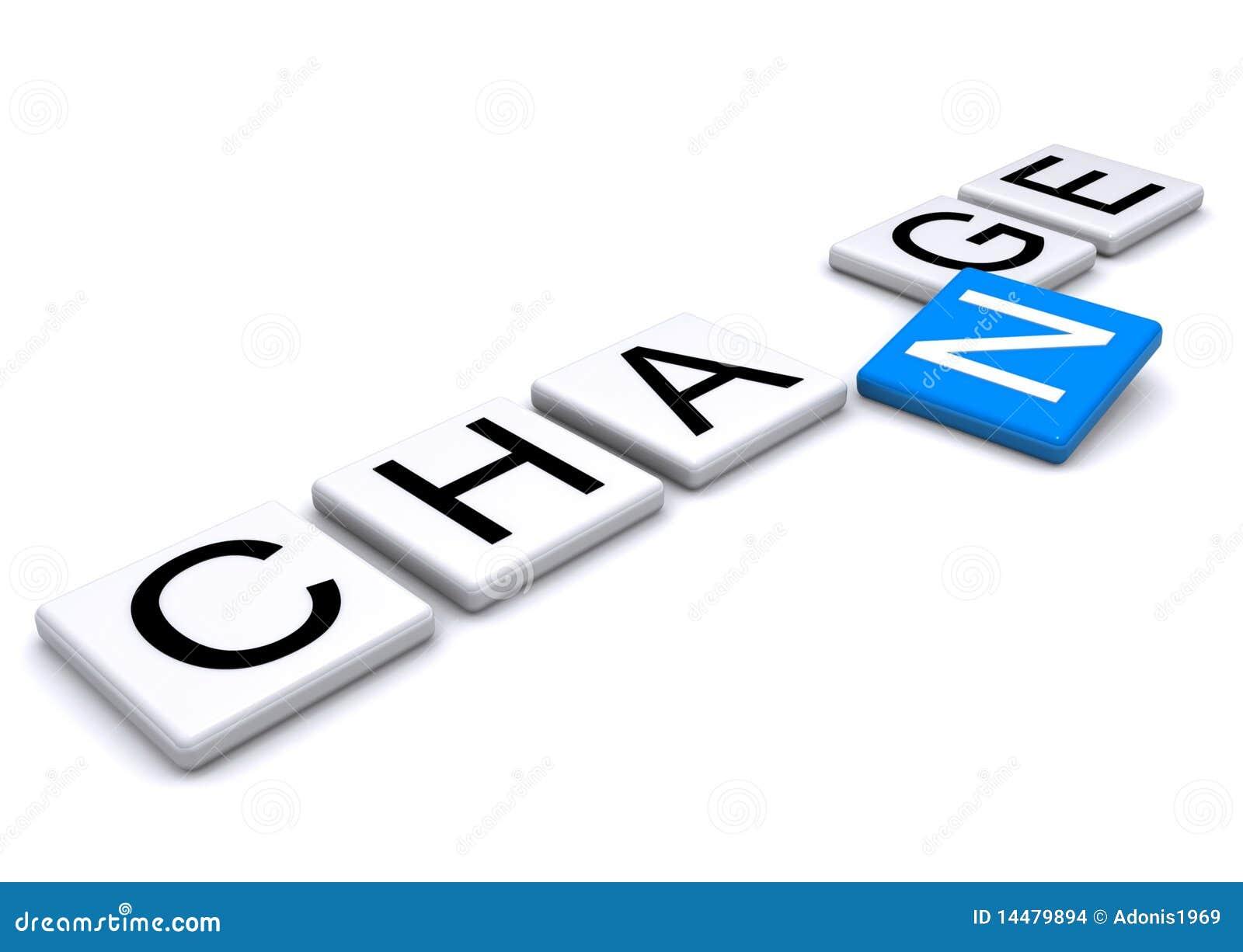 change in letters stock illustration  illustration of blue