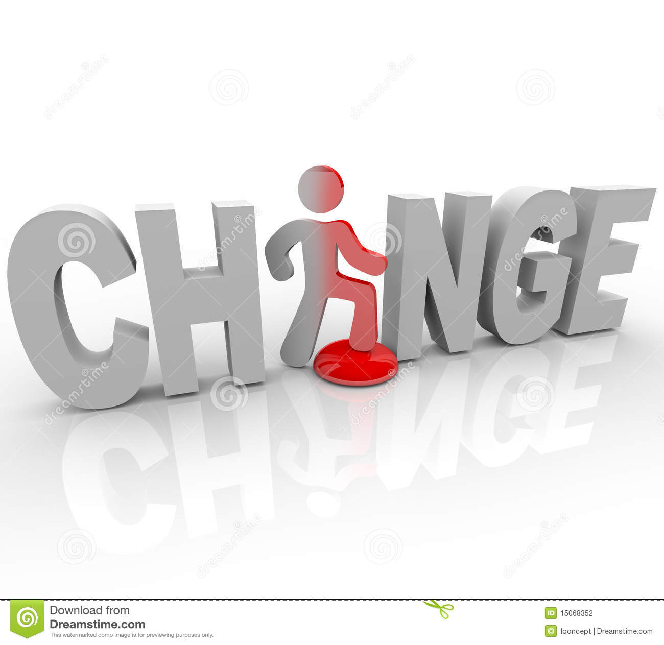 Change man in word steps on button stock illustration change man in word steps on button buycottarizona