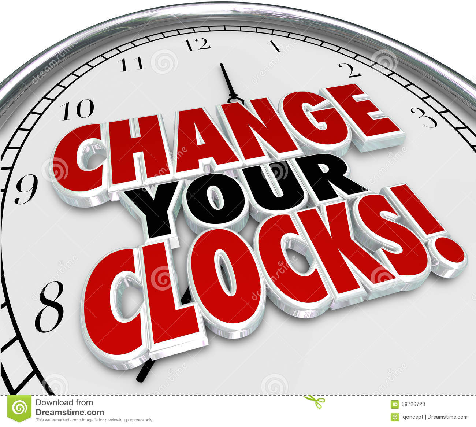Change Your Clocks Set