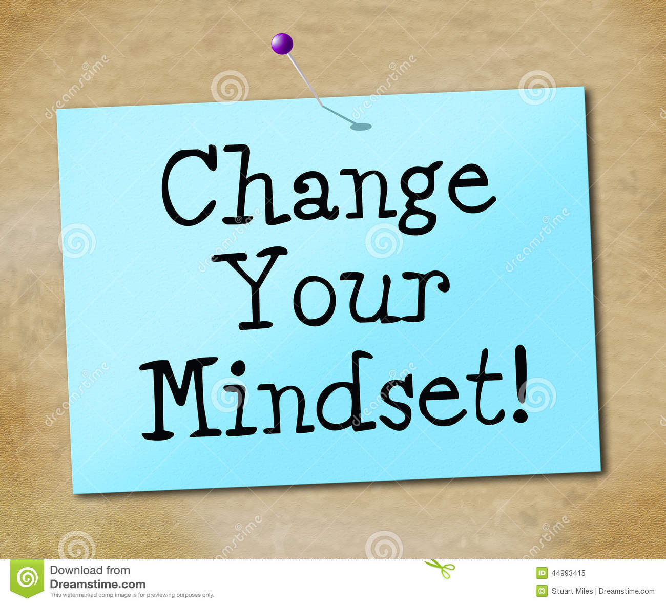 how to change the mindset of a person