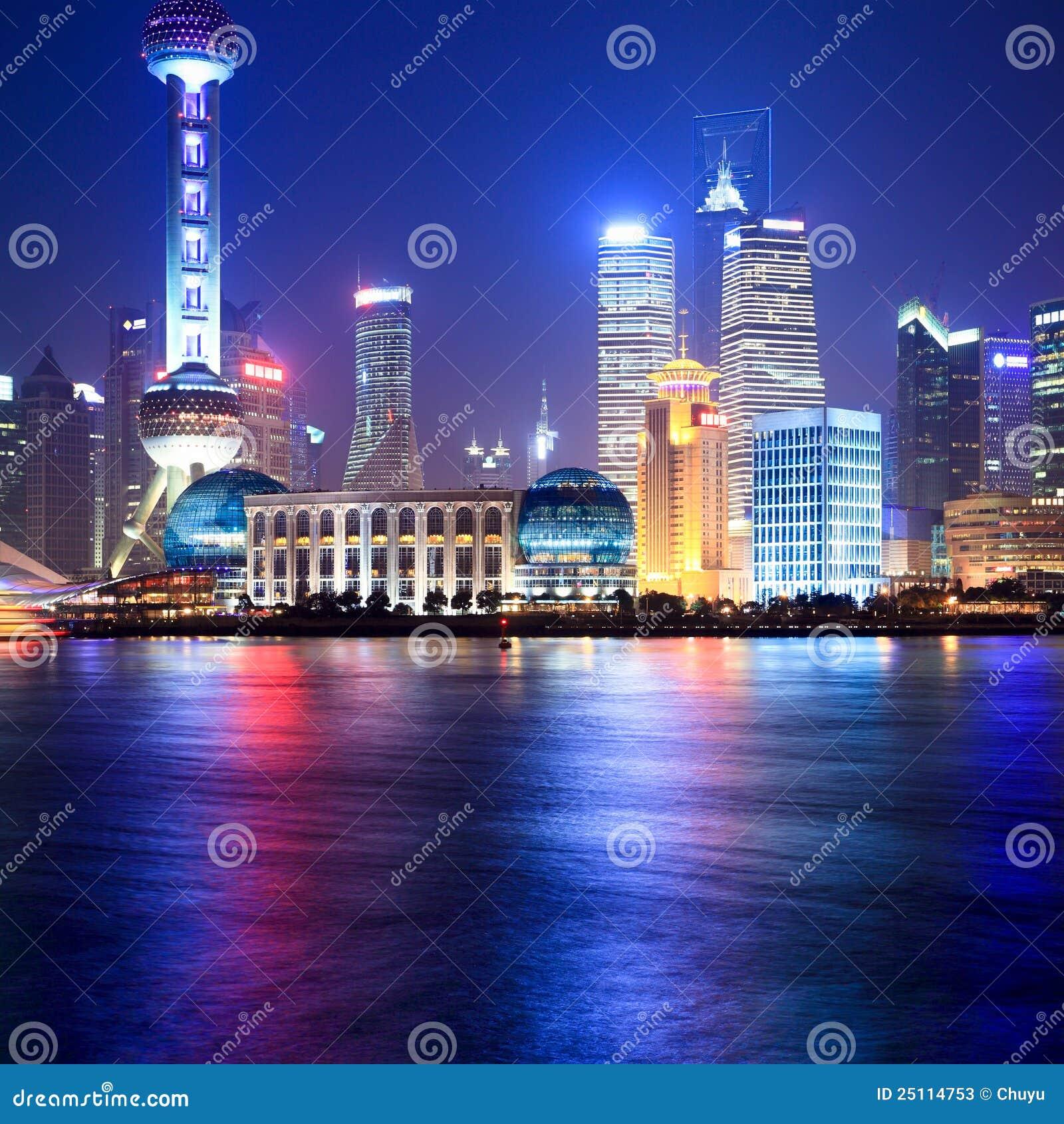 Changhaï la nuit