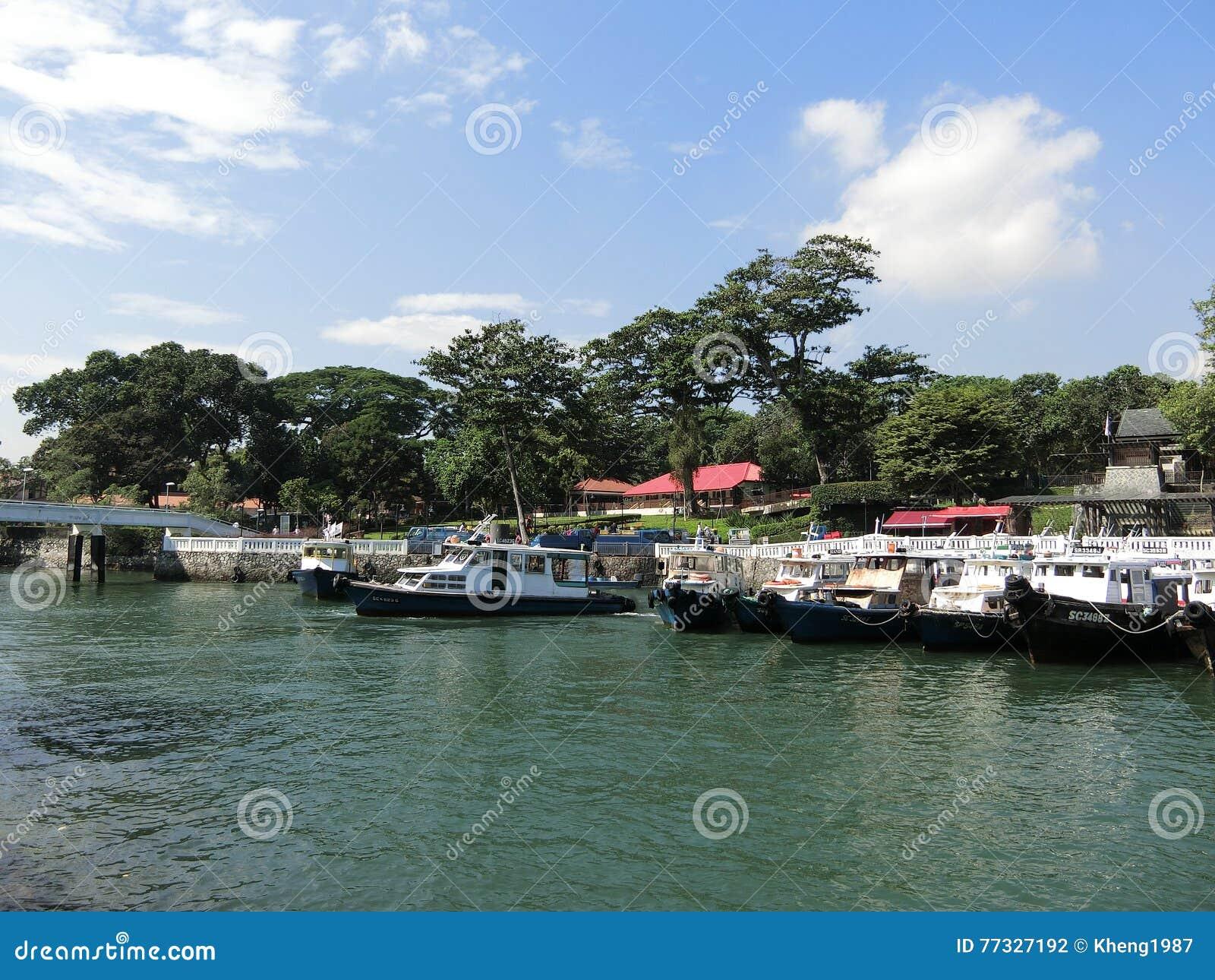 Changi Point Ferry Terminal Editorial Photography Image Of Ubin Pulau 77327192