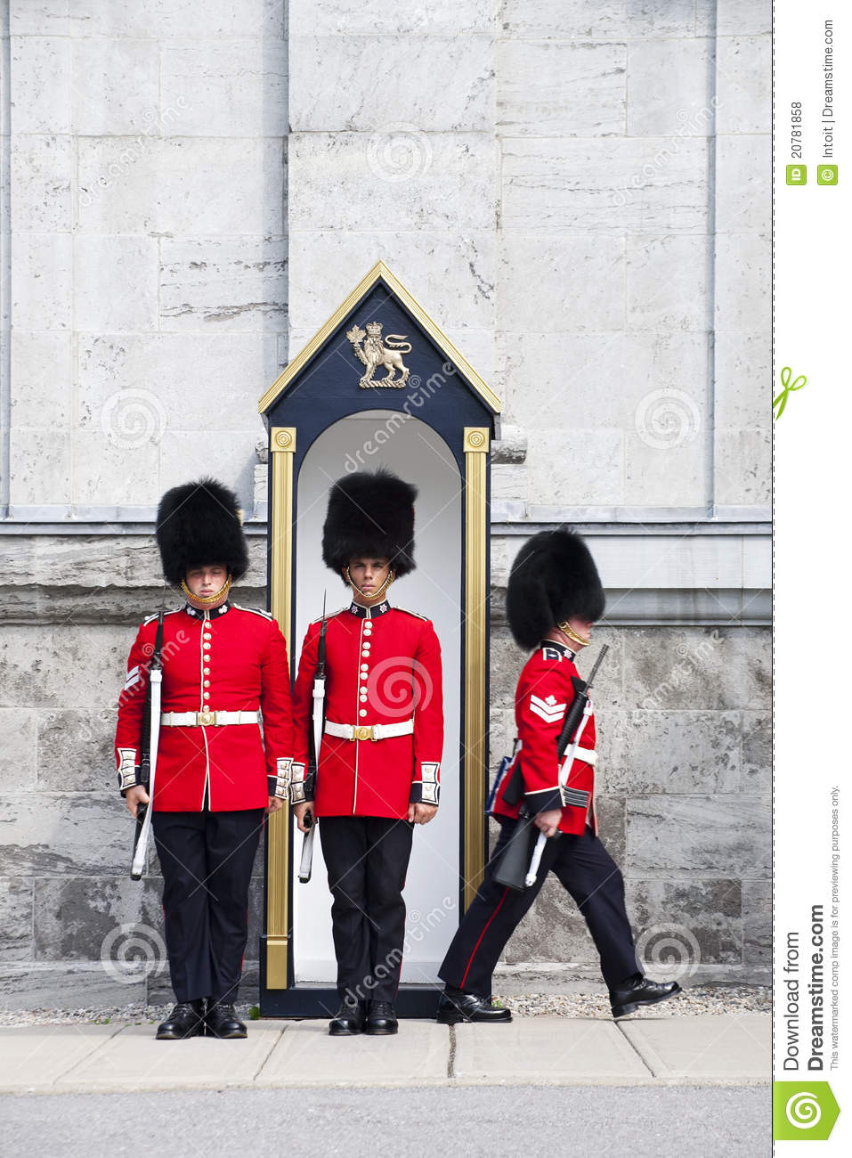 The governor general s foot guards - Canada Changing Foot General Governor Guard