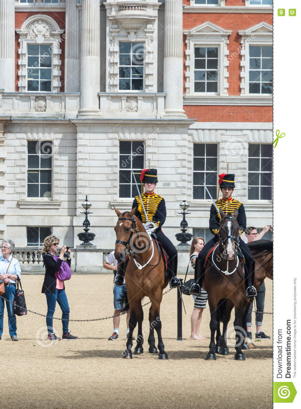 Changing The Guard, Horse Guards Parade Editorial