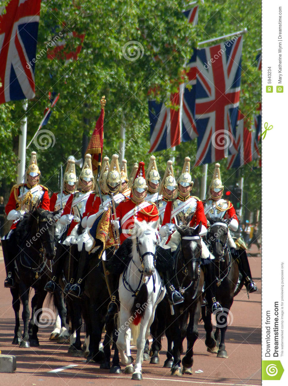 Changing Of The Guard, London Editorial Stock Image - Image