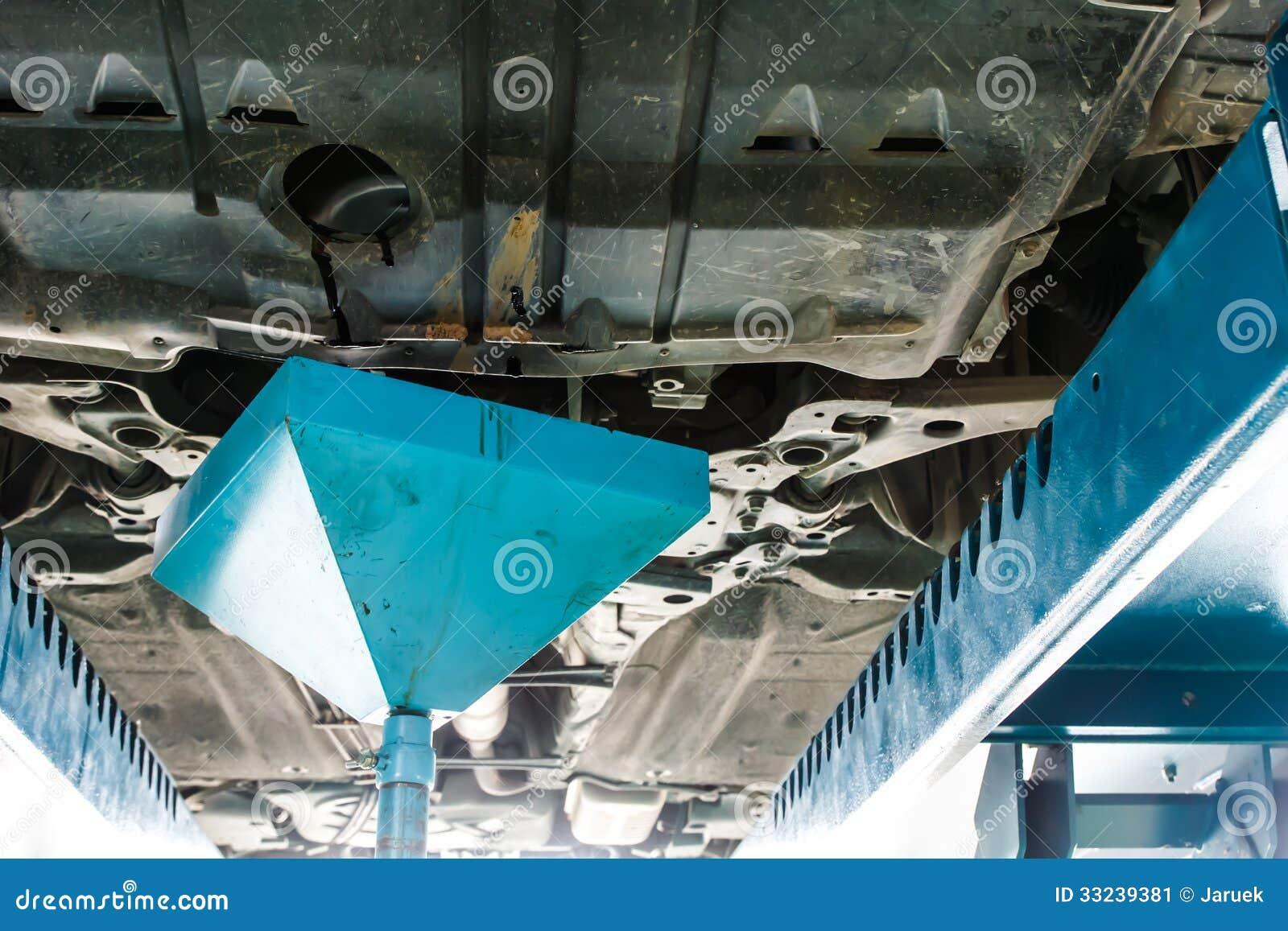 Changing motor oil stock image image 33239381 Motor vehicle repair