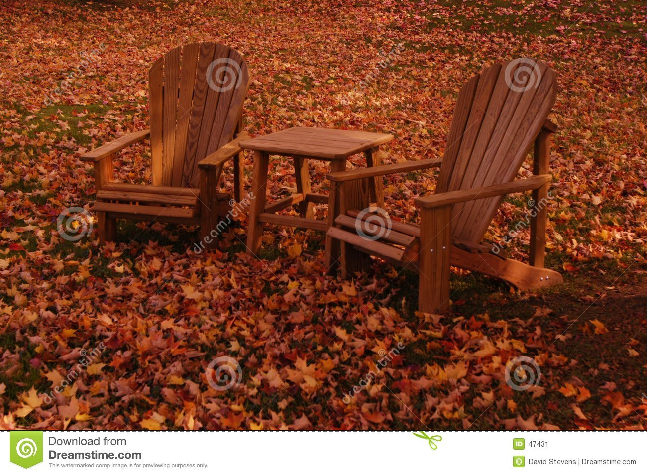 Download Changing Seasons stock image. Image of chairs, tourist, holiday - 47431