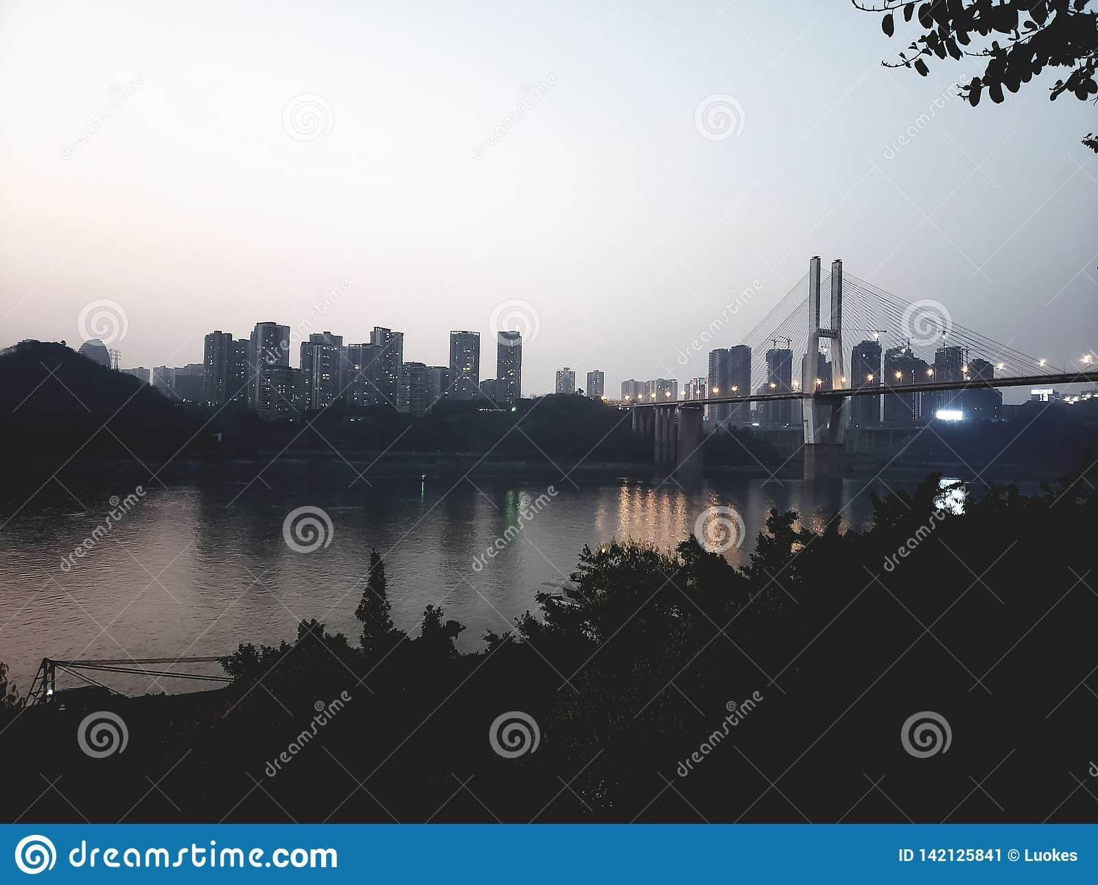 ChangJiang River in ChongQing
