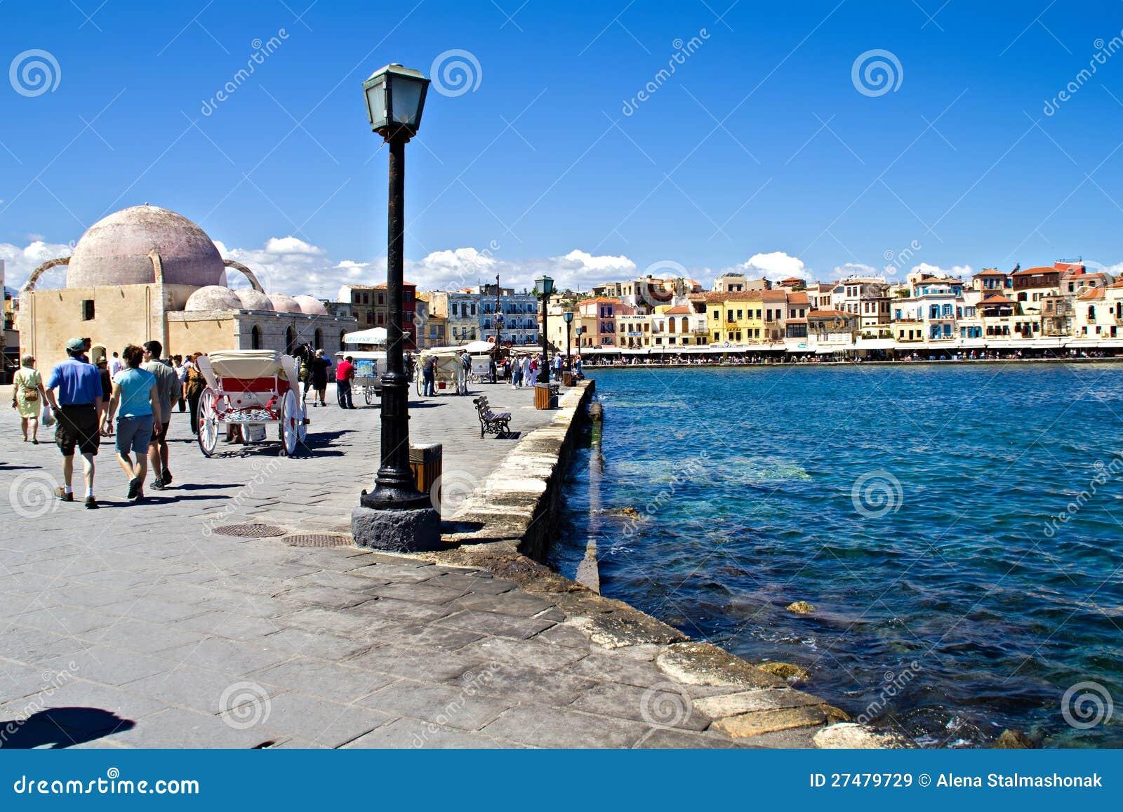Chania的老港口