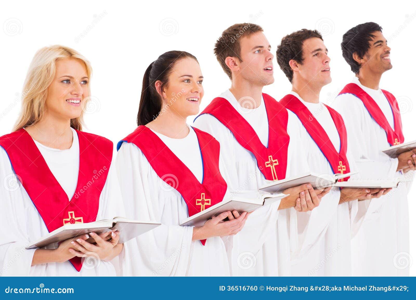 Chant de choeur d église