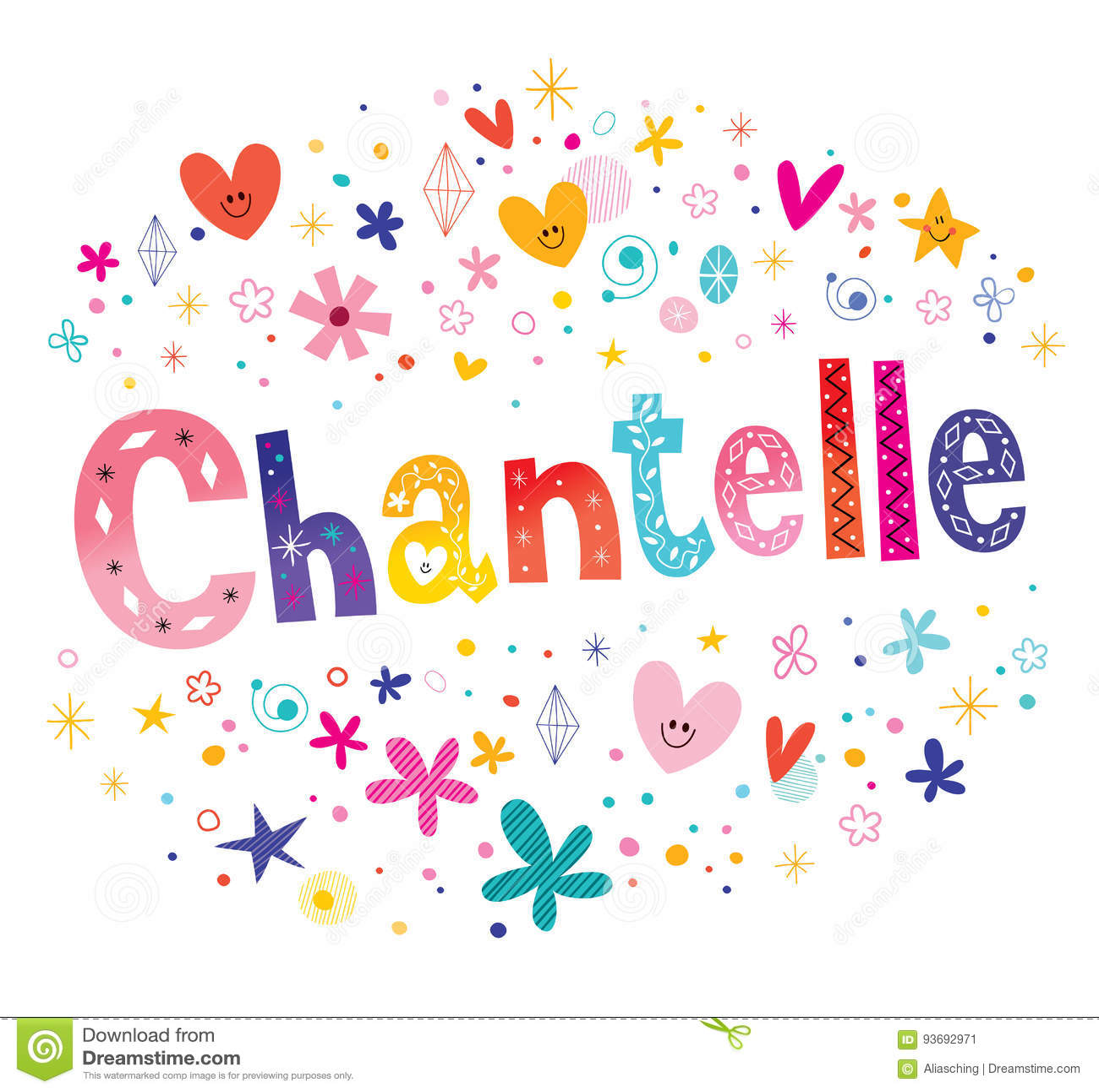 Chantelle French flickanamn
