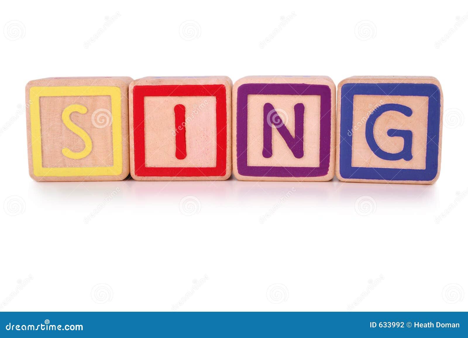 Chantez les blocs